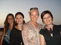 Examiners, Carolyn Parker, Theresa Lungaro-Mifsud, Kate Simmons and Lisa Christian