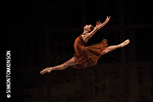 Maria Kochetkova in 'Trio' by San Francisco Ballet at Sadler's Wells