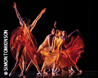Vitor Luiz and Maria Kochetkova in 'Symphonic Dances' by San Francisco Ballet at Sadler's Wells