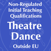 Non-Regulated Initial Theatre Dance