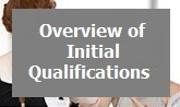 Initial Qualifications Overview