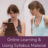 Online Learning & Using Syllabus Material