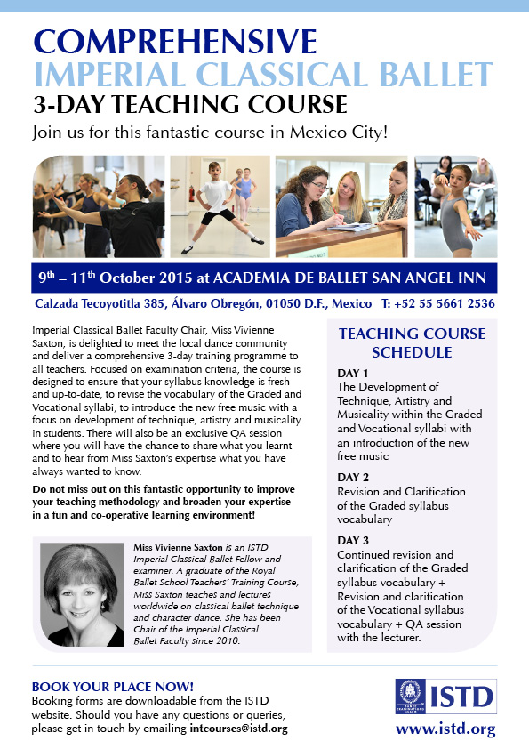 Mexico Imperial Ballet Course 2015