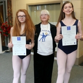 Talented young ballet stars celebrate exam success