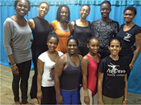 Original members of the Ballroom Faculty from Barbados