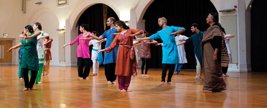 Dance India Kathak workshop with Kumudini Lakhia photo by courtesy of Milapfest