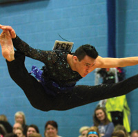 Championship Dancer, Joe Atkinson in action