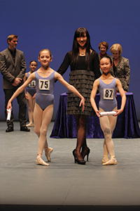 Tomoko Furuya Hristov with Sophie Farquhar and Kyanne Cheung, Grade 3