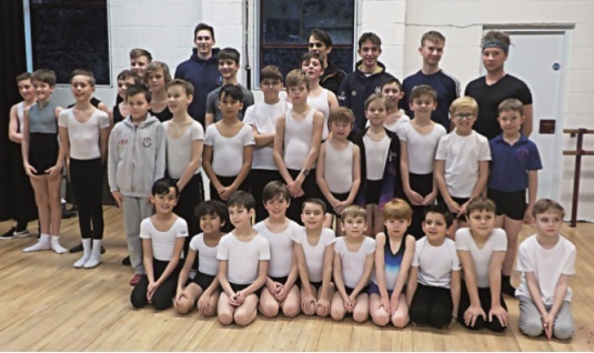 Imperial Ballet Boys Day 2019