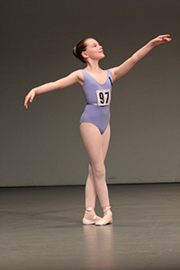 Dedicated young dancers at the Imperial Classical Ballet Awards
