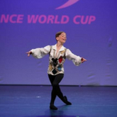 Luca at the Dance World Cup