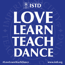 Love Learn Teach Dance ISTD Blue