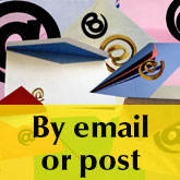 Pay by email or post