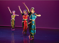 students of Srishti – Nina Rajarani Dance School