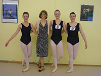Photo of a recent exam session in Germany (Koblenz) with examiner Debbie Allen, sent in by Elaine Wilsdon