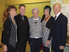 Peggy Spencer's birthday - Peggy is pictured with Patsy, Mikey, Robert and Barbara Grover