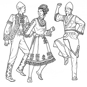 National Dance in Bulgaria - Costumes