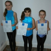 Talented sisters from Olveston dance their way to exam distinction