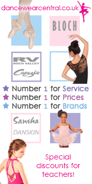 Dance Wear Central with special discounts for teachers