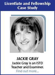 Litentiate and Fellowship Case Study - Jackie Gray