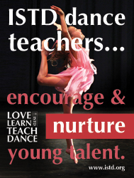ISTD dance teachers encourage and nurture young talent