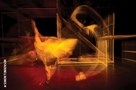 Sasha Biloshitsky in 'Run this town'  by The Urban Playground Team at Pavilion Dance South West