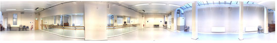 ISTD2 Dance Studios - panoramic view