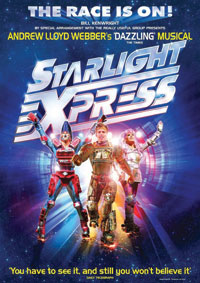 A poster from Starlight Express