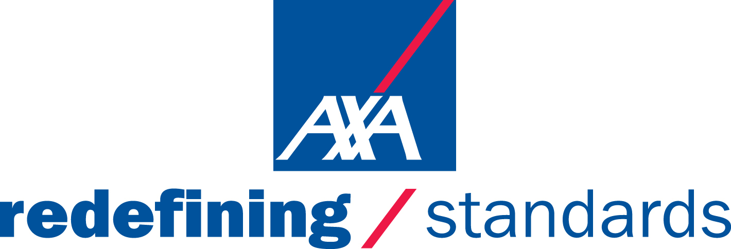AXA redefining standards logo