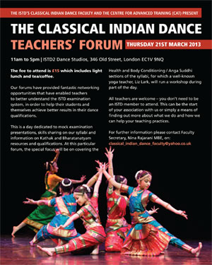 Classical Indian Dance Teachers' Forum