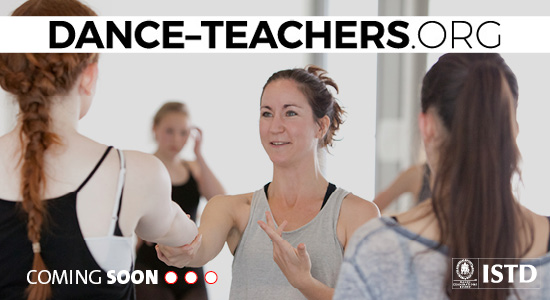 Dance-teachers.org - Holding Page Banner