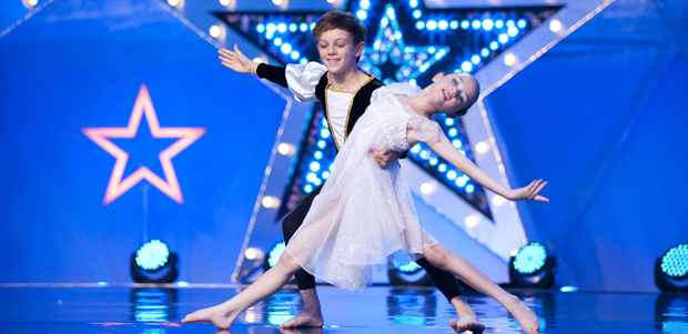 Tayluer and Elliot in Got To Dance