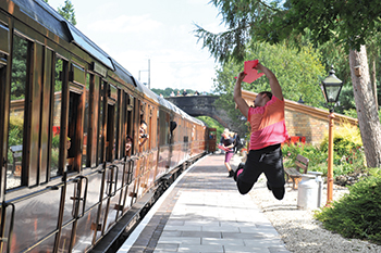 The Great Train Dance, Photo by Brian Slater
