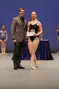 Adam Cooper with Hannah McGlashon, Intermediate