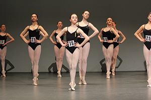 Competitors at the Imperial Classical Ballet Awards 2013