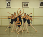 Lisa Maria Johannsen-Sawamura and students following Imperial Ballet examinations in Japan