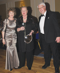 Carol Ball, Paddy Hurlings and Tim Ashcroft