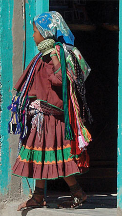 Young Tarahumara woman
