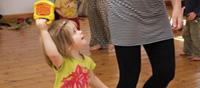 A Disco Duck class with Amanda Hughes