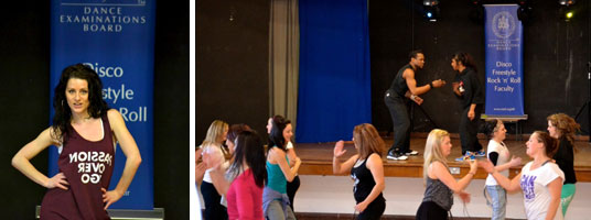 Street Dance workshop (photo by Billy Rice)